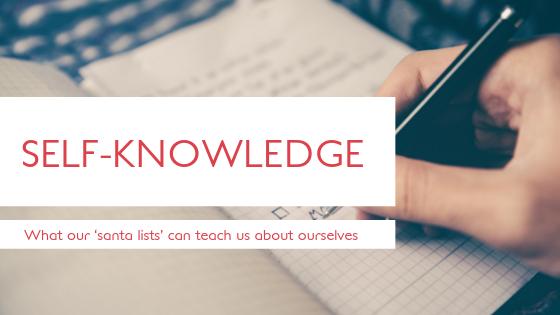 Santa list - Self Knowledge blog