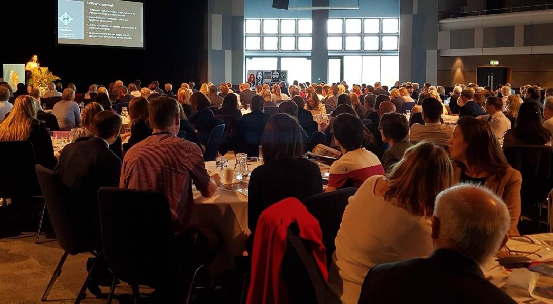 Claz addressing headteachers in birmingham