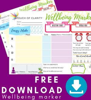 Free download - Wellbeing Marker