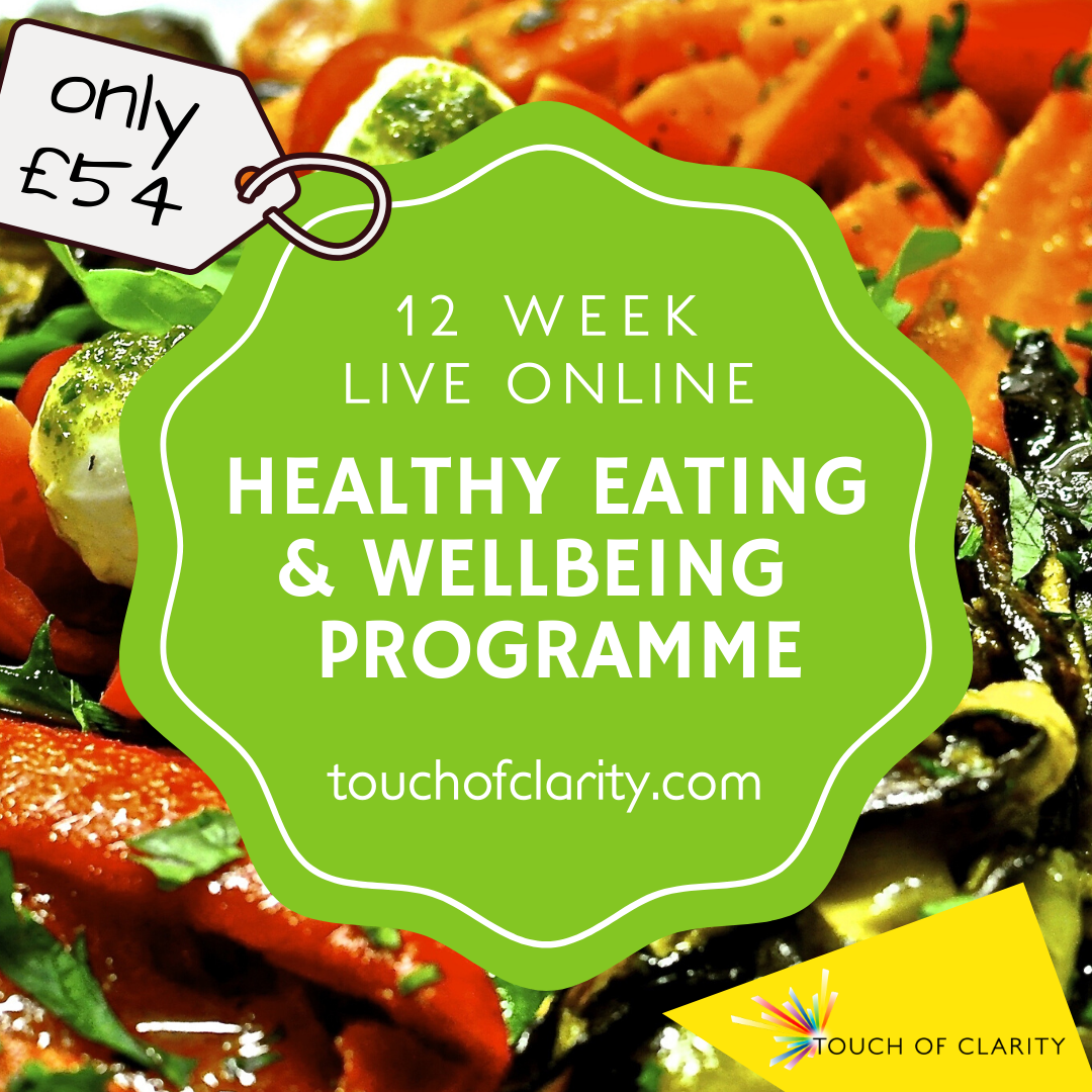 12 week healthy eating wellbeing programme - Jan 20