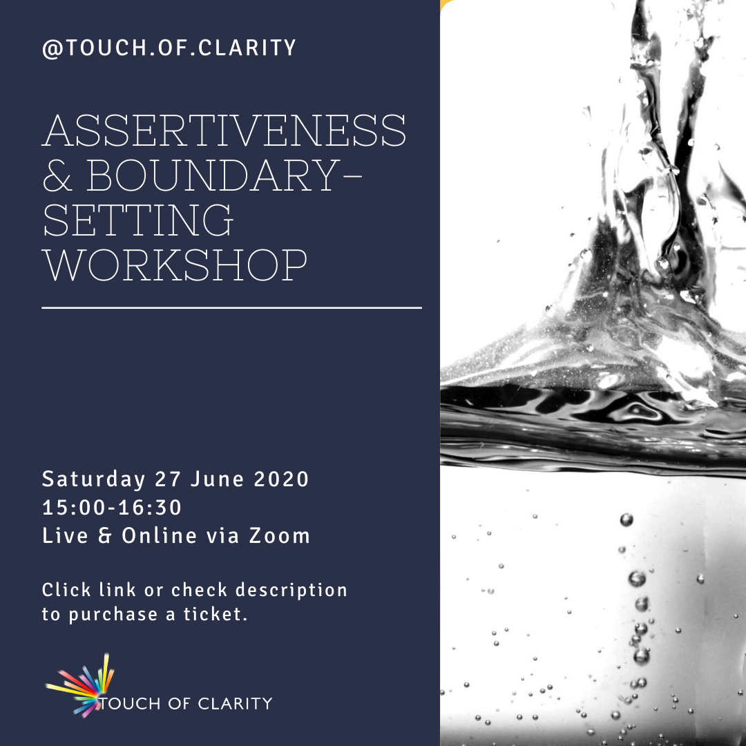 Assertiveness & Boundary-setting workshop